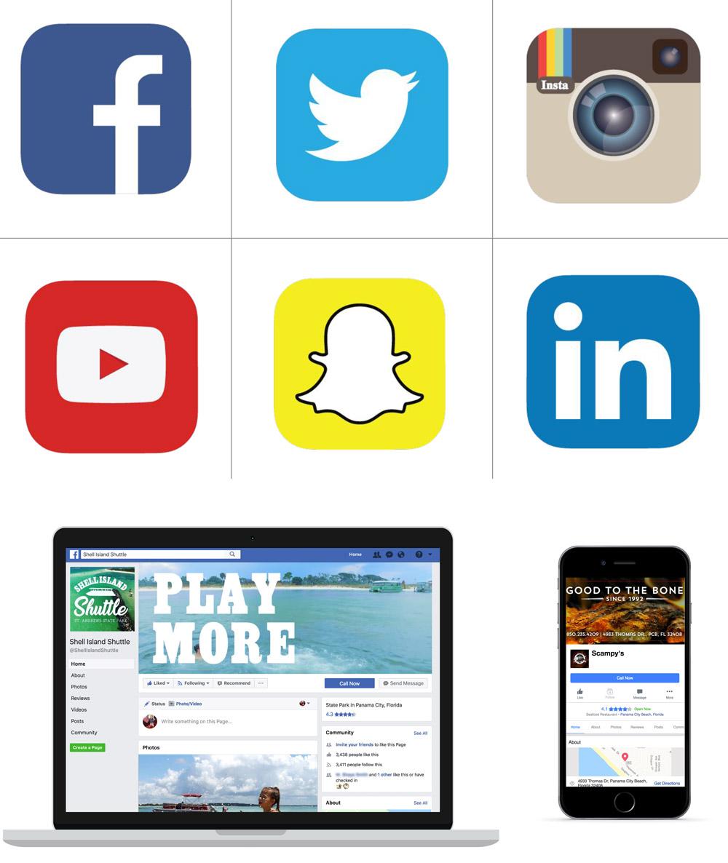 Agency 850 Handles Social Media